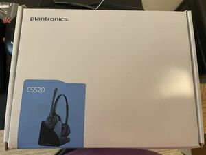 $60Wireless Plantronics headset with Plantronics EHS hook switch for Sale in Pawtucket, RI