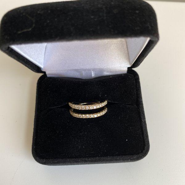Diamond Gold Wedding Band (wrap/jacket)