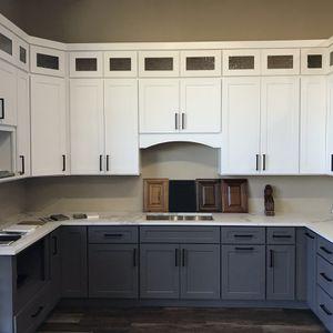 White Shaker Kitchen Cabinets And Quartz Countertops for Sale in Fife, WA