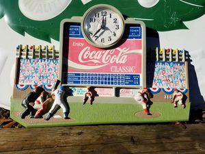 Working Coca-Cola Baseball clock for Sale in TN, US