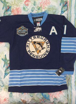 XL (71) Malkin Replica Reebok 2011 Winter Classic Jersey - Pittsburgh Penguins (sz 54) for Sale in Pittsburgh, PA
