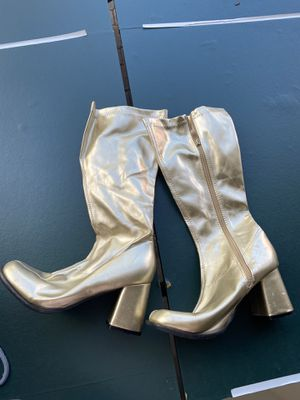 Gold Boots 👢 for Sale in Pembroke Pines, FL