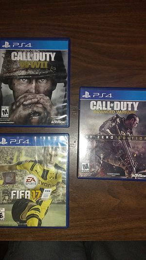 PS4 games for Sale in Farmersville, CA