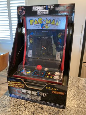 PAC-MAN ARCADE 1 UP TABLETOP SYSTEM GAME for Sale in San Diego, CA