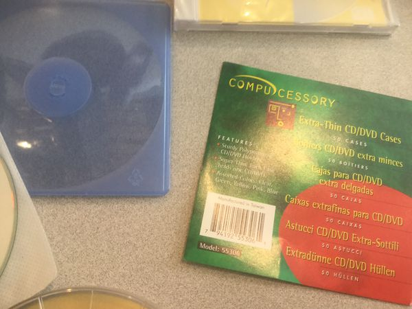 Read write NEW CD ROMS and CD ROM CASES