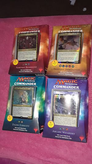 Commander 2017 MTG magic the Gathering bundle for Sale in Las Vegas, NV