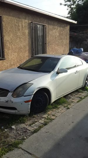 Infinity g35 parting out need to tow away for Sale in Los Angeles, CA