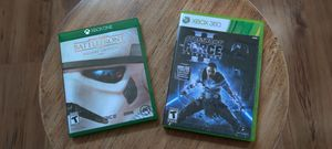 STAR WARS VIDEO GAMES (XBOX ONE / XBOX 360) for Sale in Los Angeles, CA