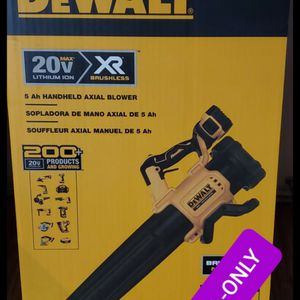 Brand new never used DEWALT 125 MPH 450 CFM 20V MAX Cordless Brushless Handheld Blower (Tool Only) $$ 100 firm for Sale in Bakersfield, CA