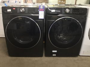 (Anoka 02-2823-PH AS) Samsung Front Load Washer and Gas Dryer for Sale in Anoka, MN