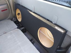 Brand New Slim Dual 12 inch Sub Box by Groundshaker for Sale in San Marcos, CA