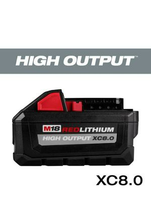 Milwaukee M18 18-Volt HIGH OUTPUT XC 8.0 Ah Battery for Sale in Sacramento, CA