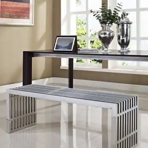 Large Stainless Steel (chrome) Bench for Sale in Portland, OR