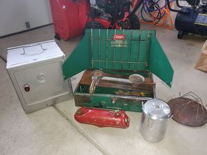 Coleman camping cooking stuff for Sale in Depew, NY