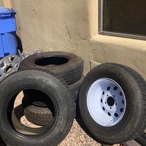 Castle Rock ST225/75R15 Radial Travel Tires - Load Range D for Sale in Gilbert, AZ