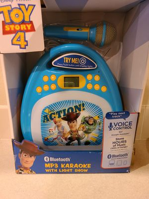 Toy Story 4 Karoke Machine for Sale in Boise, ID