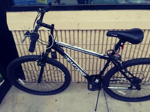 "Men's Mongoose Excursion bike... BLACK, 29"" 21 SPEED!!! ONLY 3 WKS. OLD, COMPLETE WITH MANUAL! MOVING OUT OF TOWN FOR JOB, & MUST SELL!!! $75 for Sale in Valdosta, GA"