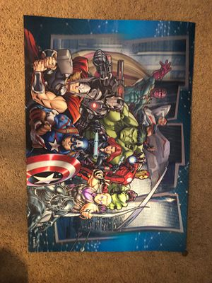 3-D Marvel comic picture for Sale in Oceanside, CA