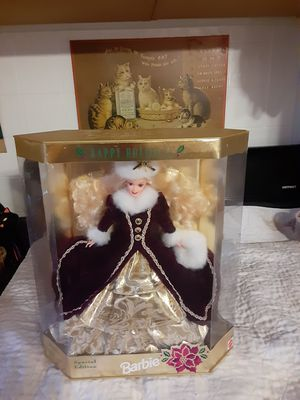 Mattel Happy Holidays 1996 Special Edition Christmas Barbie - New In Box for Sale in Leavittsburg, OH