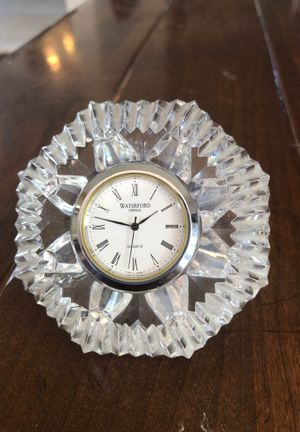 Waterford Crystal — Classic Lismore Diamond Clock for Sale in LAUD BY SEA, FL