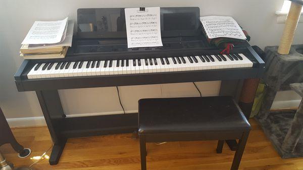 Yamaha Clavinova CVP-6 AWM Keyboard Piano w/ Bench