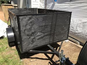 Utility trailer for sale , 5x8x4, new. Axle, new tires, new lights, new ho for Sale in Portland, OR