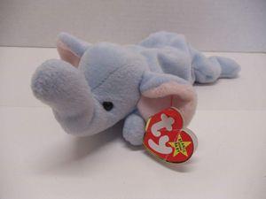Royal Elephant Beanie Babies Peanut for Sale in Houston, TX
