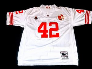 NFL San Francisco 49ers Ronnie Lott White Jersey size XXL for Sale in San Jacinto, CA