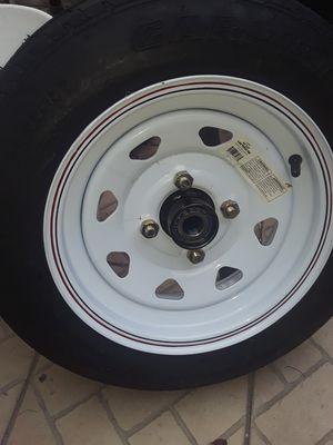 Brand new trailer tire. 4 lug for Sale in Flamingo, FL