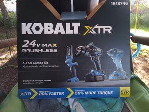 Kobalt xtr 3 piece set for Sale in Rapid City, SD