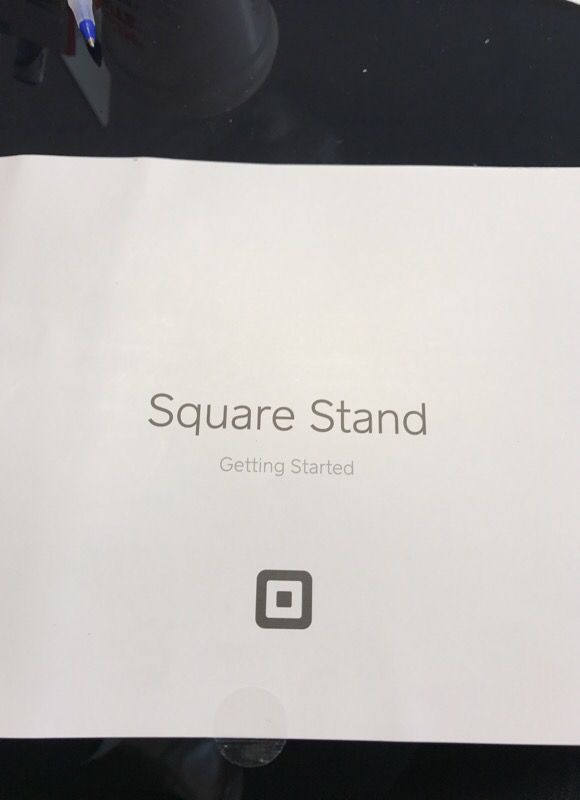 Square Business Stand