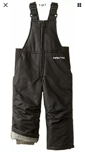 arctix infant toddler chest high snow bib overalls black 4t for Sale in Los Angeles, CA