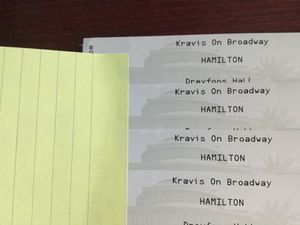 Hamilton Tickets (4) for Saturday, February 15, 2020 @ 8:00 pm for Sale in West Palm Beach, FL