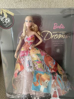 50th Anniversary Collectors Edition Generations of Dreams Barbie for Sale in Haslet, TX