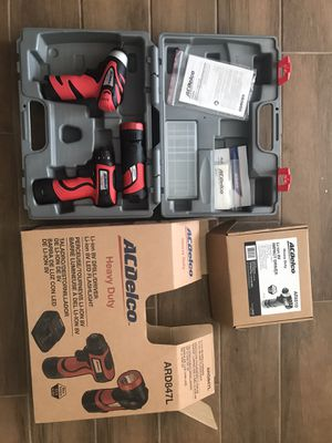 AcDelco cordless power tools for Sale in Houston, TX