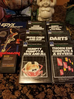 ATARI 400/800 Computer Cassettes for Sale in Fairfield, CA