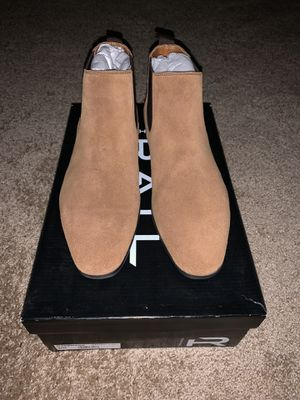 Chelsea boots brown suede sz 7.5 for Sale in Acworth, GA