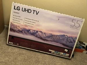 """LG 55"""" 4k UltraHD Smart HDR LED Tv for Sale in Garden Grove, CA"""