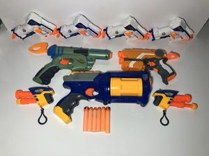 Lot of Nerf Guns - Assorted - All Working for Sale in Tamarac, FL