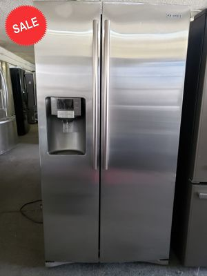 💎💎💎Side by Side Samsung Refrigerator Fridge Free Delivery #1429💎💎💎 for Sale in Riverside, CA