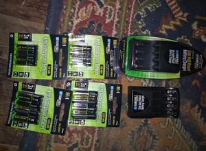 Brand new charger and rechargeable batteries for Sale in Mocksville, NC