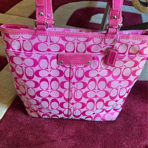 Small size coach tote for Sale in New Port Richey, FL