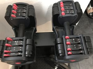 TurboBell560 adjustable dumbbells w/stand for Sale in Boston, MA