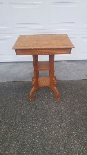Antique side table for Sale in Lacey, WA