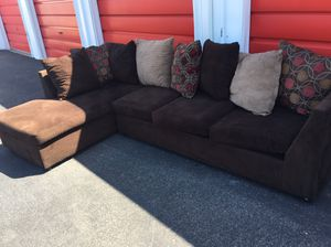 Comfortable sectional couch living room just like new for Sale in Phoenix, AZ
