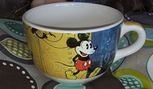 Disney Mickey Denim LG soup mug vintage for Sale in Virginia Beach, VA