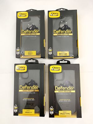 Defender OtterBox for iPhone 7, 8, 7 Plus, 8 Plus, 11 & 11 Pro. Belt Clip & Holster. Black. for Sale in Santa Clarita, CA