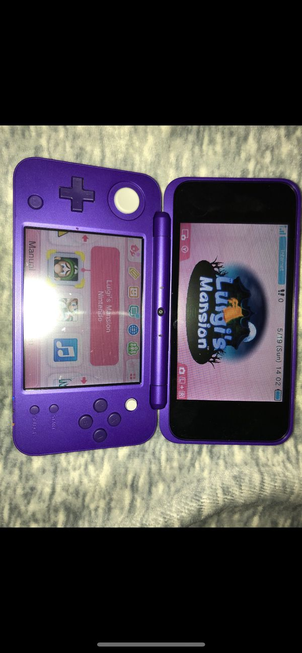 New Nintendo 2DS XL + Luigi's Mansion & Mario Kart 7 Installed