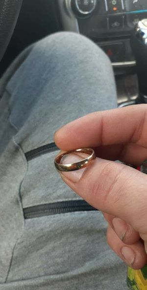18k gold plated/ 925 men's size 9 ring for Sale in Murfreesboro, TN