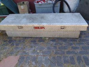 """DELTA TRUCK TOOL BOX 69""""22""""+ WITH STUFF... for Sale in Stockton, CA"""